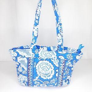 Vera Bradley Blue and White Tote Bag Purse Handbag